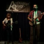 Brian Webb en Amy Correia