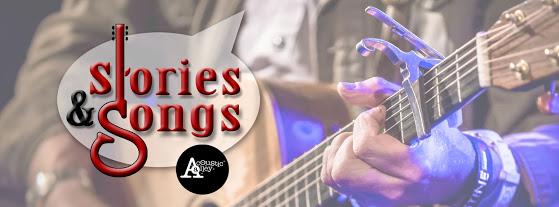 Nieuw in Acoustic Alley: Stories & Songs 9 oktober 2015