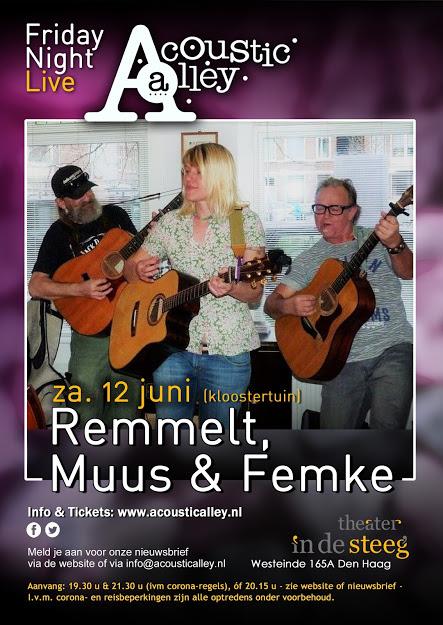12 juni: Remmelt, Muus & Femke